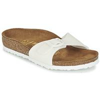 Cipők Lány Papucsok Birkenstock MADRID Fehér / Fényes
