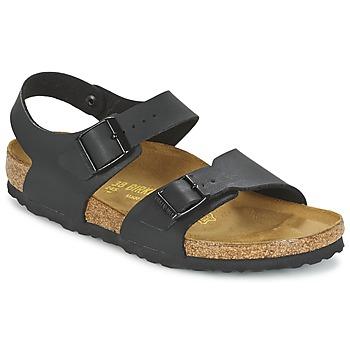 Cipők Fiú Szandálok / Saruk Birkenstock NEW YORK Fekete