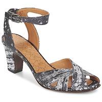 Cipők Női Szandálok / Saruk Chie Mihara HART Fekete  / Fehér