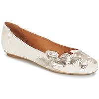 Shoes Női Balerina cipők / babák Betty London ERUNE Fehér / Ezüst