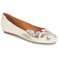 Cipők Női Balerina cipők  Betty London ERUNE Fehér / Ezüst