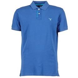 Ruhák Férfi Rövid ujjú galléros pólók Gant CONTRAST COLLAR PIQUE Kék