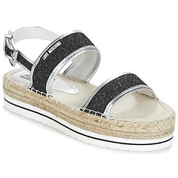 Shoes Női Szandálok / Saruk Love Moschino SIMONA Fekete