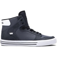 Cipők Férfi Magas szárú edzőcipők Supra Chaussures  Vaider Charcoal h15 - Gris