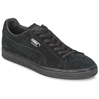 Cipők Rövid szárú edzőcipők Puma SUEDE CLASSIC Fekete  / Szürke