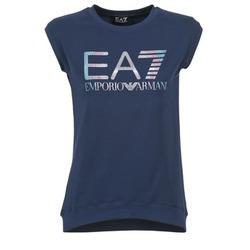 material Női Rövid ujjú pólók Emporio Armani EA7 ANDROUL Tengerész