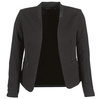 material Női Kabátok / Blézerek Only TAMARA Fekete
