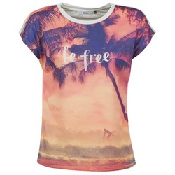 material Női Rövid ujjú pólók Only BE FREE SUMMER Sokszínű