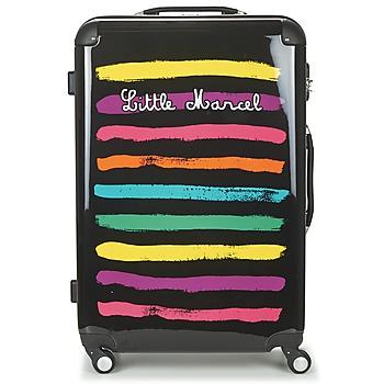 Bags Keményfedeles bőröndök Little Marcel MALTE-75 Fekete  / Sokszínű