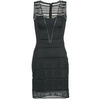 Ruhák Női Rövid ruhák Morgan RHONE Fekete