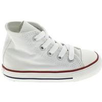 Cipők Gyerek Baba mamuszok Converse All Star Hi BB Blanc Fehér
