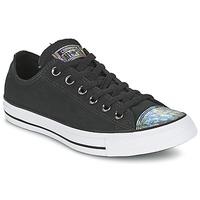 Cipők Női Rövid szárú edzőcipők Converse ALL STAR OIL SLICK TOE CAP OX Fekete