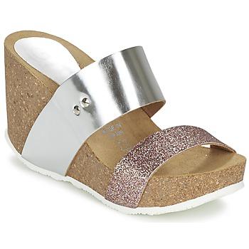 Shoes Női Papucsok Ganadora FLORA Ezüst