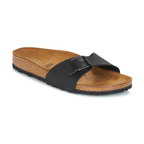 Cipők Női Papucsok Birkenstock MADRID Fekete