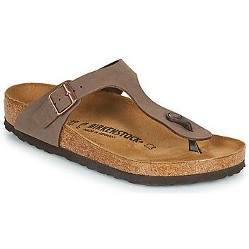 Cipők Női Lábujjközös papucsok Birkenstock GIZEH Barna