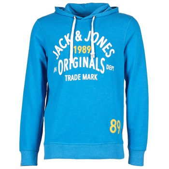 material Férfi Pulóverek Jack & Jones ATHLETIC SWEAT ORIGINALS Kék