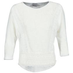 material Női Hosszú ujjú pólók Vero Moda MYBELLA Fehér