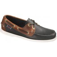 Cipők Férfi Vitorlás cipők Sebago Bateau  Spinnaker Leather Fekete