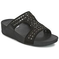 Shoes Női Papucsok FitFlop CARMEL SLIDE Fekete