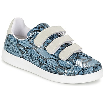 Cipők Női Rövid szárú edzőcipők Yurban ETOUNATE Kék / Farmer