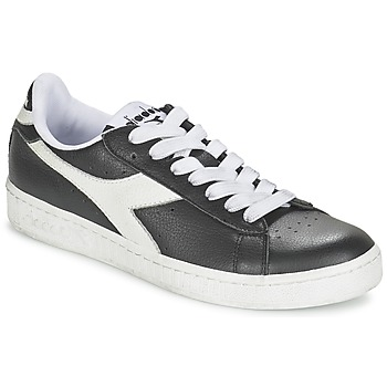 Shoes Rövid szárú edzőcipők Diadora GAME L LOW Fekete  / Fehér