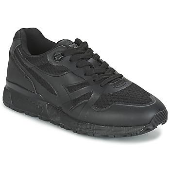 Cipők Férfi Rövid szárú edzőcipők Diadora N9000 MM II Fekete
