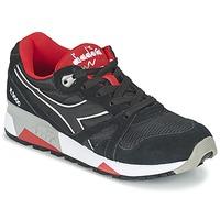 Cipők Rövid szárú edzőcipők Diadora N9000 NYLON II Fekete  / Piros