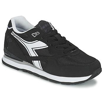 Cipők Rövid szárú edzőcipők Diadora N-92 Fekete  / Fehér