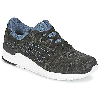 Cipők Rövid szárú edzőcipők Asics GEL-LYTE III Fekete  / Kék