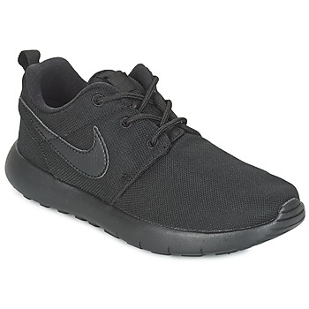 Shoes Fiú Rövid szárú edzőcipők Nike ROSHE ONE CADET Fekete