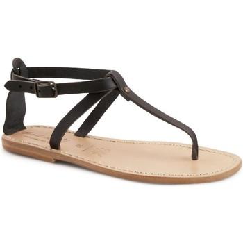 Cipők Női Szandálok / Saruk Gianluca - L'artigiano Del Cuoio 582 D NERO LGT-CUOIO nero