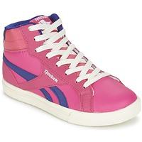 Shoes Lány Magas szárú edzőcipők Reebok Classic REEBOK ROYAL COMP 2 Rózsaszín