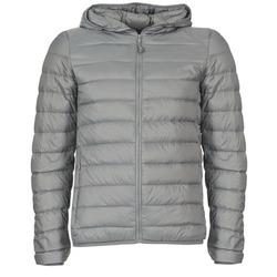 Ruhák Férfi Steppelt kabátok Benetton FOULI Szürke