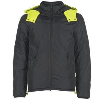 Ruhák Férfi Steppelt kabátok Benetton CUFU Fekete