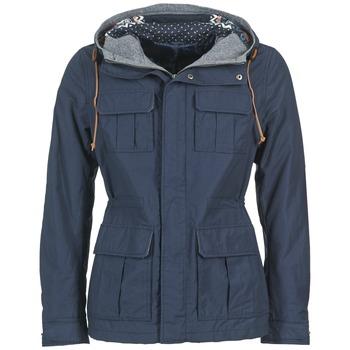 Ruhák Férfi Parka kabátok Benetton JULIPO Tengerész