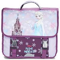 Táskák Lány Iskolatáskák Disney REINE DES NEIGES CARTABLE 38CM Mályva