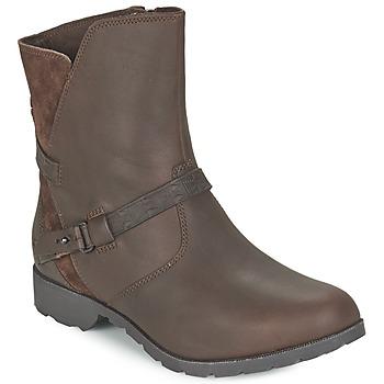 Cipők Női Csizmák Teva DELAVINA LOW Barna