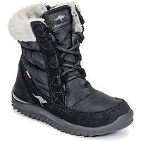 Cipők Lány Hótaposók Kangaroos CUPY JUNIOR Fekete