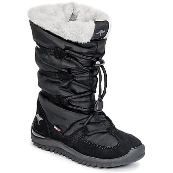 Cipők Női Hótaposók Kangaroos PUFFY III JUNIOR Fekete