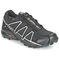 Cipők Férfi Futócipők Salomon SPEEDCROSS 4 GTX® Fekete  / Ezüst