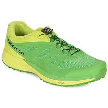 Shoes Férfi Futócipők Salomon SENSE PRO 2 Zöld / Fekete