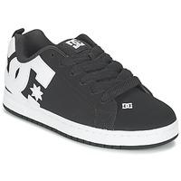 Cipők Férfi Rövid szárú edzőcipők DC Shoes COURT GRAFFIK Fekete