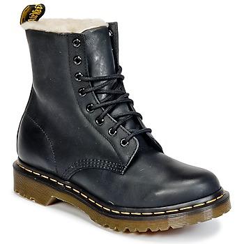 Cipők Női Csizmák Dr Martens SERENA Fekete