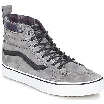Shoes Magas szárú edzőcipők Vans SK8-HI MTE Szürke