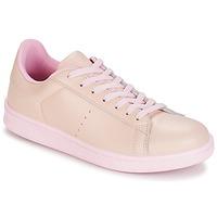Cipők Női Rövid szárú edzőcipők Yurban EZIME Rózsaszín