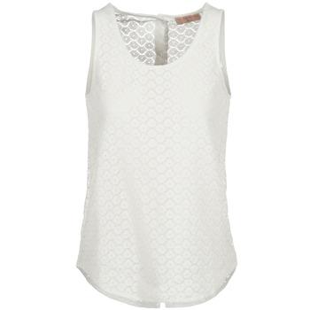 Ruhák Női Trikók / Ujjatlan pólók Moony Mood IGUOHIAVINE Fehér