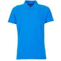 material Férfi Rövid ujjú galléros pólók BOTD EPOLARO Kék