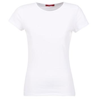 Ruhák Női Rövid ujjú pólók BOTD EQUATILA Fehér