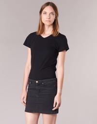 Ruhák Női Rövid ujjú pólók BOTD EFLOMU Fekete