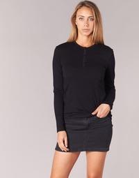 Ruhák Női Hosszú ujjú pólók BOTD EBISCOL Fekete